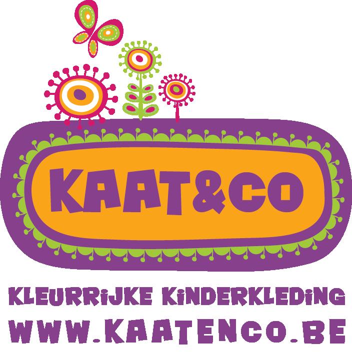 Logo kaatenco kleurrijke kinderkleding