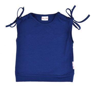 Baba Babywear Tie Shirt Blue