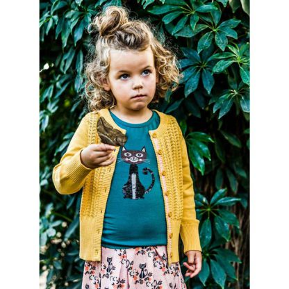 4FF Cardigan Yellow Moon