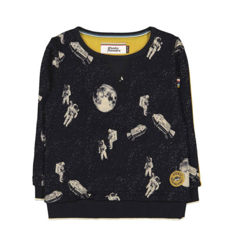 4FF Sweater A Funky Space Reincarnation