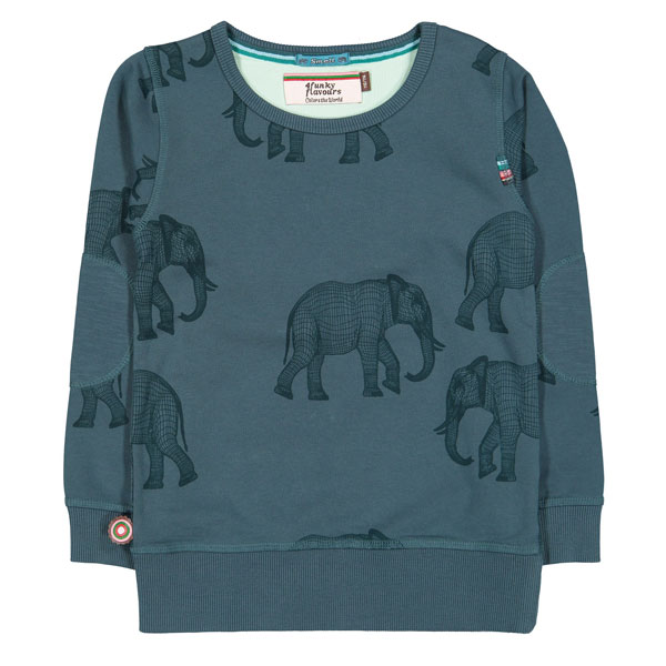 4FF Sweater Elephants on a String