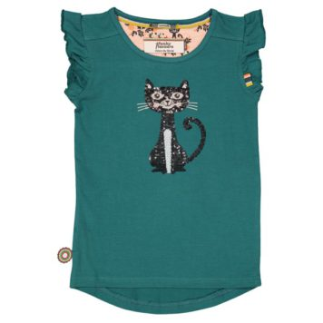 4FF T-shirt Kitten Moon