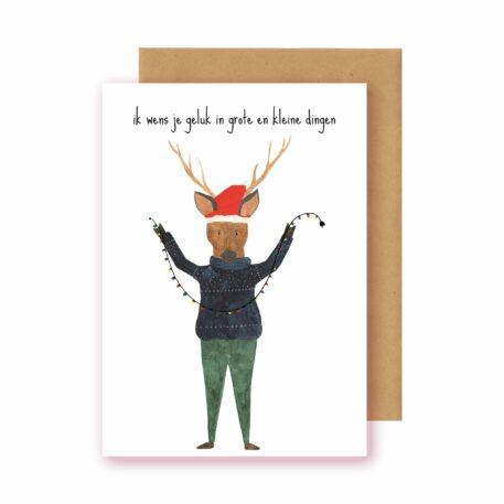 Studio Bertha Postkaart Geluk in Kleine en Grote Dingen