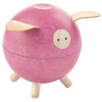 Plan Toys spaarvarken Pink