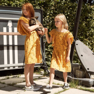 A MONDAY in Copenhagen Agatha Dress Golden Yellow