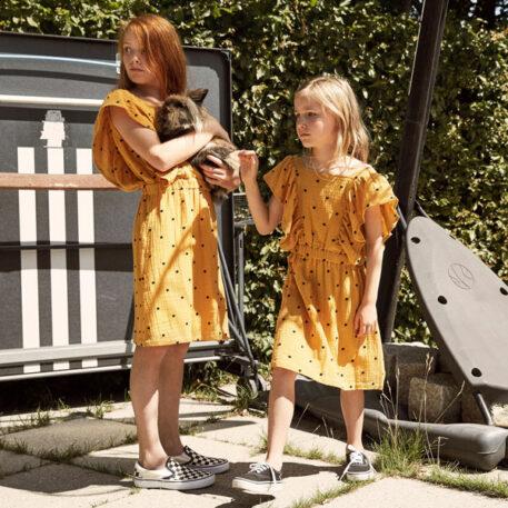 A MONDAY in Copenhagen Agatha Dress Golden Yellow