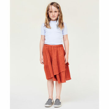 A MONDAY in Copenhagen Anouska Skirt Rust