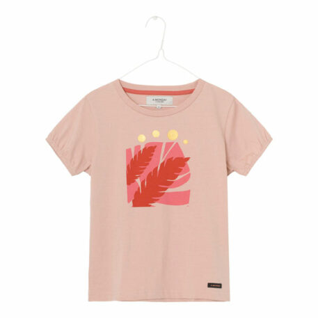 A MONDAY in Copenhagen Art T-shirt Cameo Rose