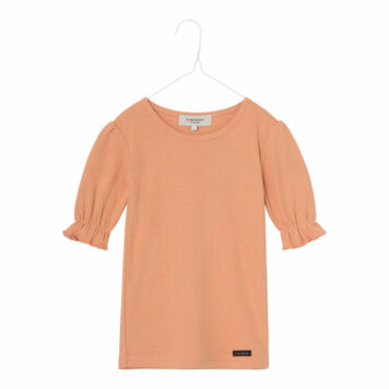 A MONDAY in Copenhagen Ibi Shirt Peach Bloom