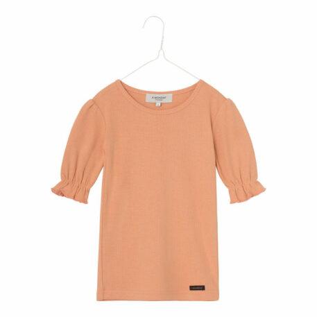 A MONDAY in Copenhagen Ibi Shirt Peach Bloom
