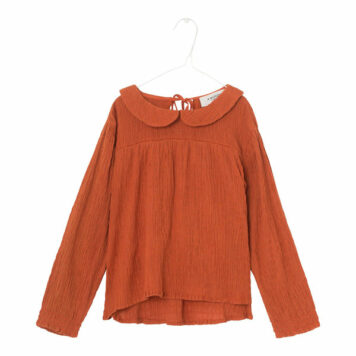 A MONDAY in Copenhagen Larissa Blouse Rust