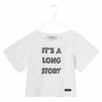 A MONDAY in Copenhagen Nynne T-shirt White