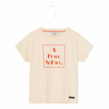 A MONDAY in Copenhagen Paris T-shirt Butter Cream