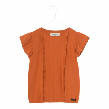 A MONDAY in Copenhagen Sif Blouse Rust