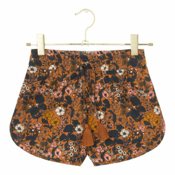 A MONDAY in Copenhagen Tillie Shorts Tomato Cream Print