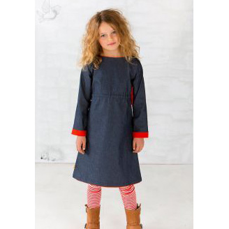 Albababy Donna Dress Blue 104