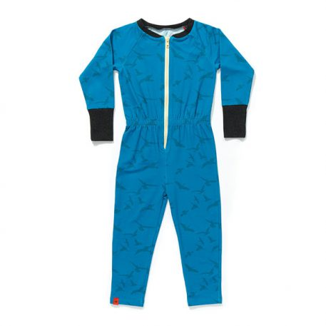 Albababy Foby Zippersuit Blue Bird
