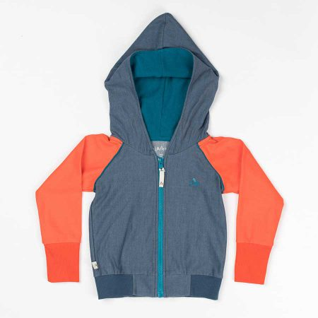 Albakid Adam Zipper Hood Dark Denim