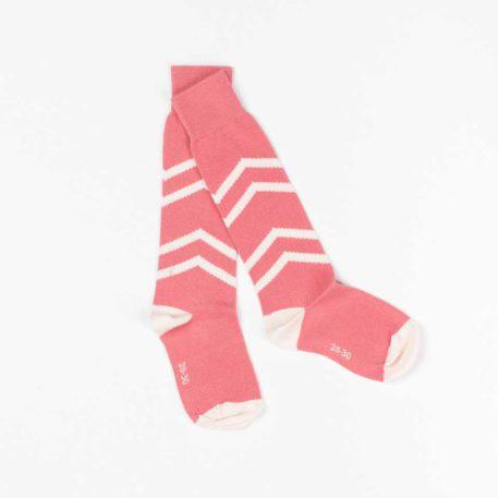 Albakid Annie Knee Socks Peach Blossom