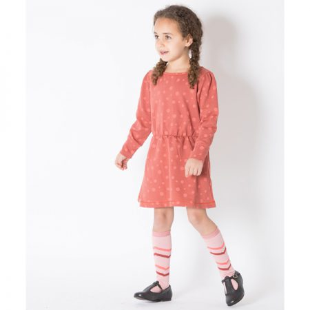Albakid Annie Knee Socks Rose Tan