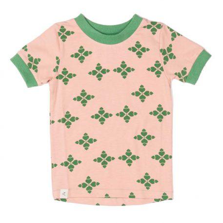 Albakid Bella T-shirt Peach Beige Big Hearts