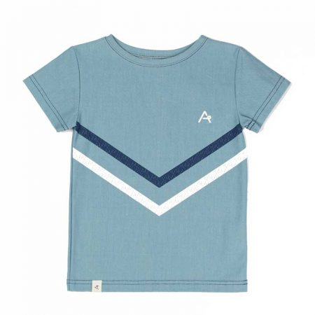 Albakid Bertram T-shirt Bluestone