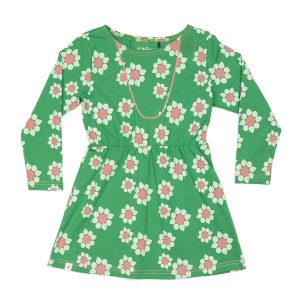 Albakid Esme Dress Juniper Big Wild Flower