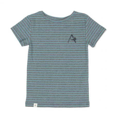 Albakid Gate T-shirt Bluestone Striped