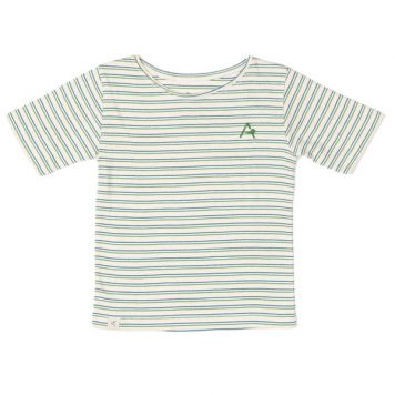 Albakid Gate T-shirt Seaport Striped