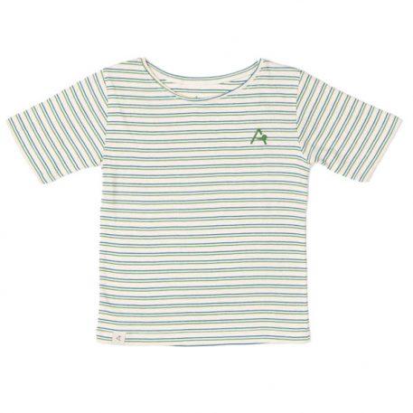Albakid Gate T-shirt Seaport Striped