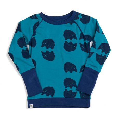 Albakid Hendric Blouse Mykonos Blue Cutie Hedgehocks