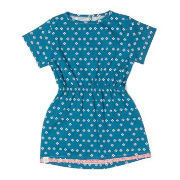 Albakid Kaya Dress Seaport Mini Hearts