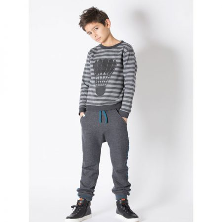 Albakid Trent Sweat Phantom Stripe