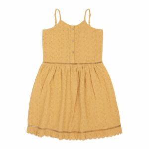 Ammehoela Lenna Dress Mustard Yellow