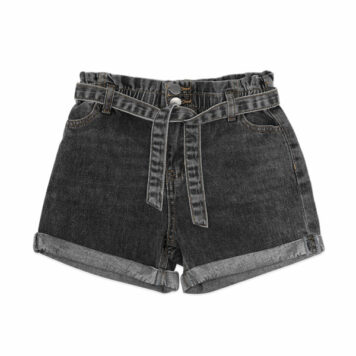 Ammehoela Short Jip Denim Stone Black