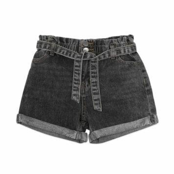 Ammehoela Short Jip Denim Stone Black