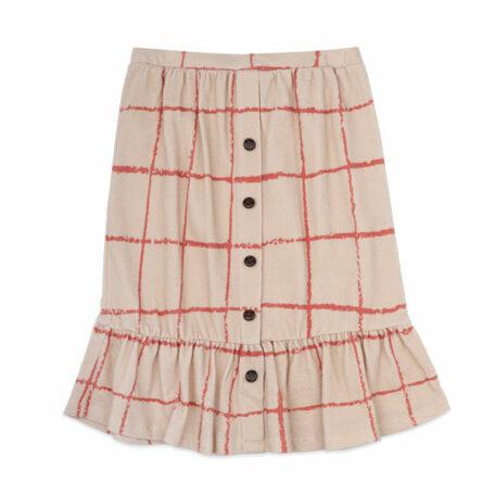 Ammehoela Skirt Flynn Raster Pebble