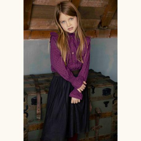 Ammehoela Skirt Romee Warm Brown