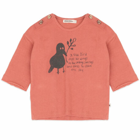 Ammehoela T-shirt Bunny Copper Coin