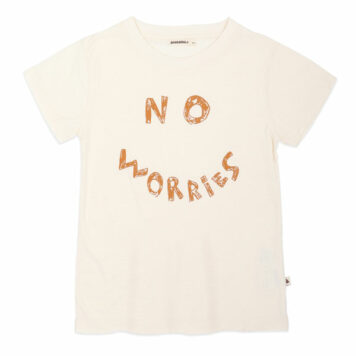 Ammehoela T-shirt Zoe Ivory No Worries