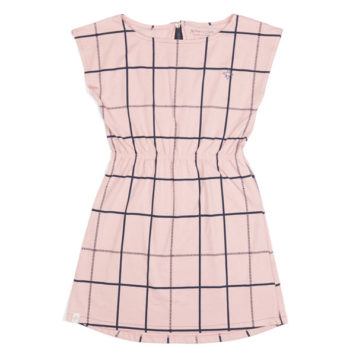 Atracktion Ditte Dress Pale Mauve Big Cube
