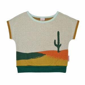 Ba*Ba Anna Shirt Jacquard Cactus