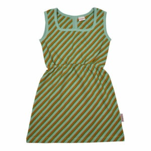 Ba*Ba Billie Dress Diagonal Blue