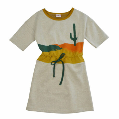 Ba*Ba Blanche Dress Jacquard Cactus