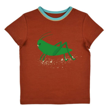 Ba*Ba Boys T-shirt Gingerbread Grasshopper