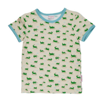 Ba*Ba Boys T-shirt Grasshopper