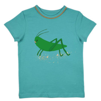 Ba*Ba Boys T-shirt Tapestry Grasshopper