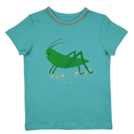 Ba*Ba Boys T-shirt Tapestry Grasshopper