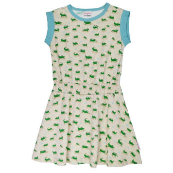 Ba*Ba Cindy Dress Grasshopper