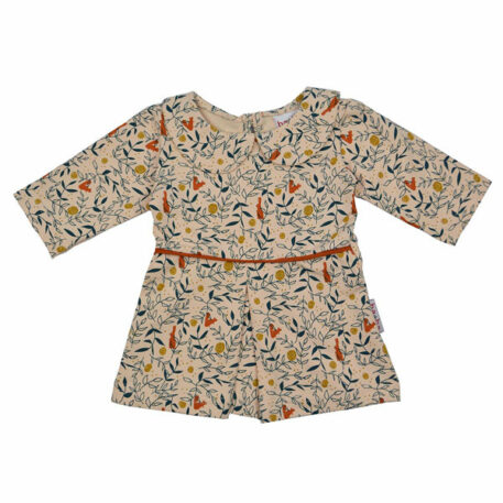 Ba*Ba Collar Dress Rabbit and Squirrel